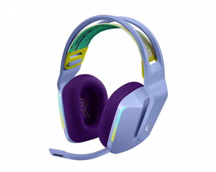 G733 Lightspeed Wireless Headset - Lilac in the group PC Peripherals / Headsets & Audio / Gaming headset / Wireless at MaxGaming (1001027)