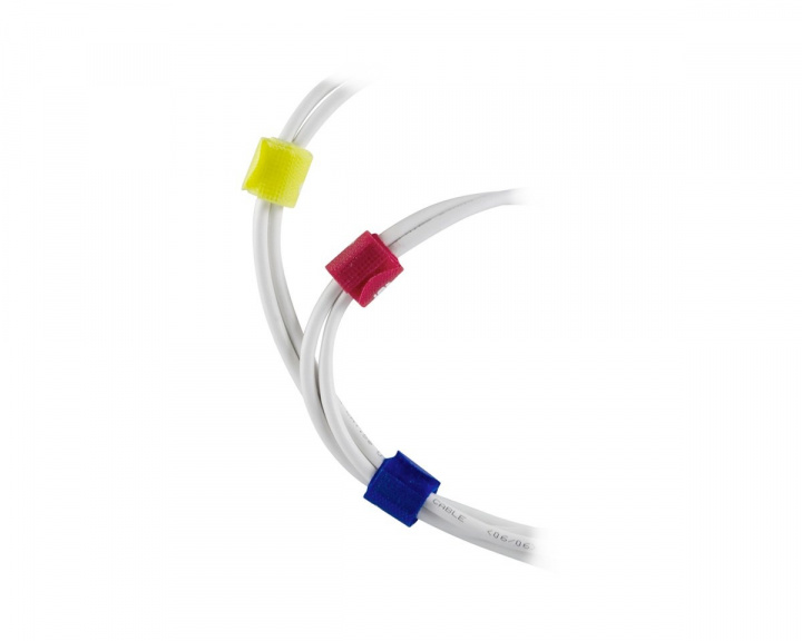 Cable Ties Multiple colors 10pcs in the group PC Peripherals / Cables & adapters / Cable management at MaxGaming (10291)