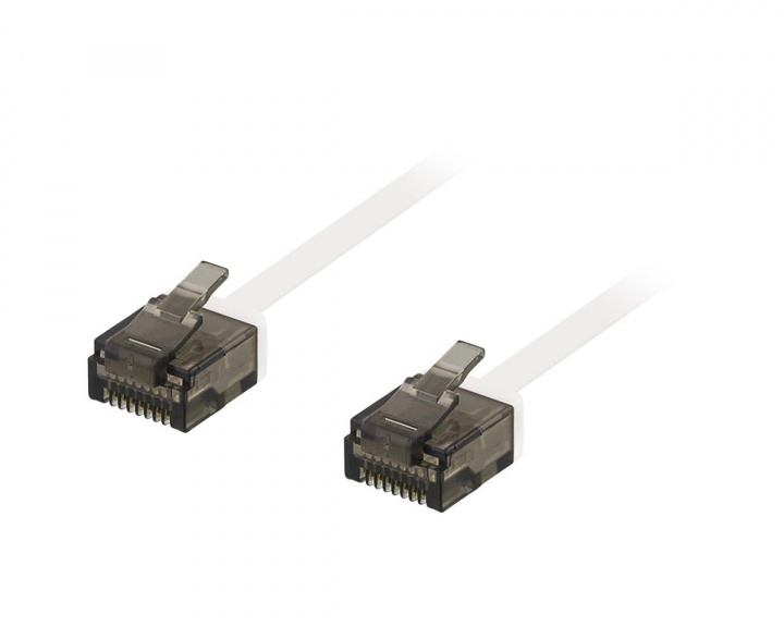 UTP Network cable Cat6 0.3m White in the group PC Peripherals / Router & Networking / Ethernet cables at MaxGaming (10538)