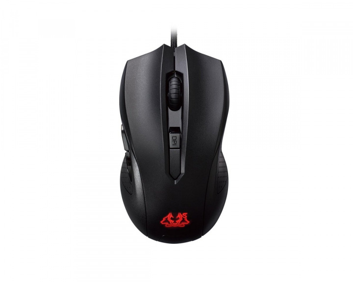 Cerberus Gaming Mouse - Black in the group PC Peripherals / Mice & Accessories / Gaming mice / Wired at MaxGaming (10704)
