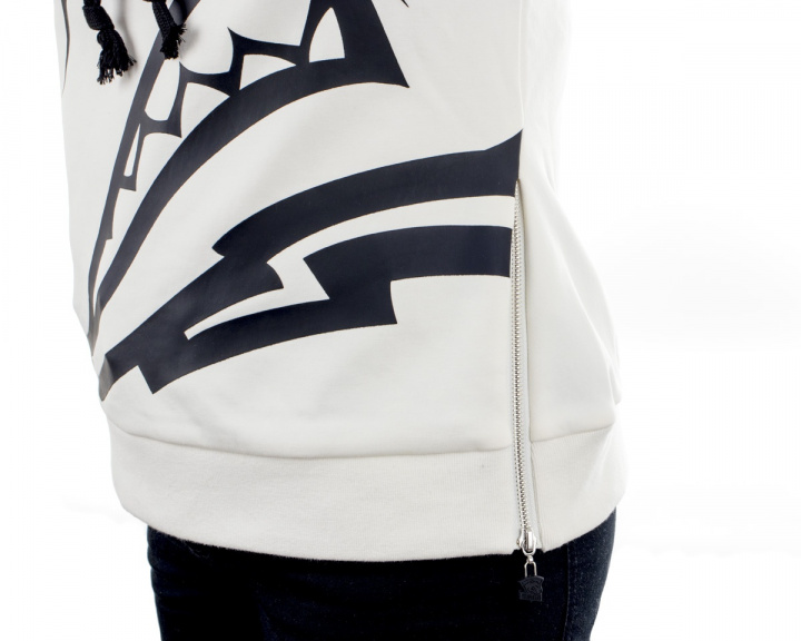 Woman Hoodie 2017 - White in the group Home & Leisure / Clothing / Team store / Virtus.pro at MaxGaming (10720)