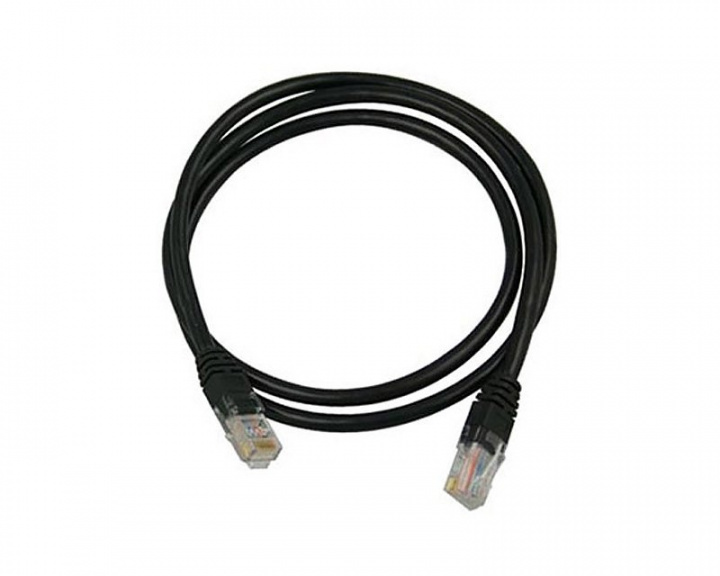 UTP Network cable Cat6 50m Black in the group PC Peripherals / Router & Networking / Ethernet cables at MaxGaming (11397)