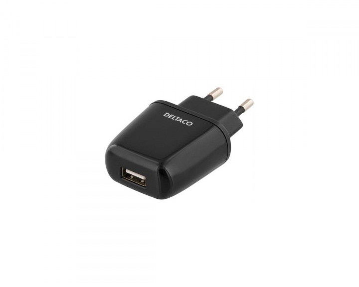 USB-adapter 5V 2,4A Black in the group PC Peripherals / Cables & adapters / Adapters at MaxGaming (11674)