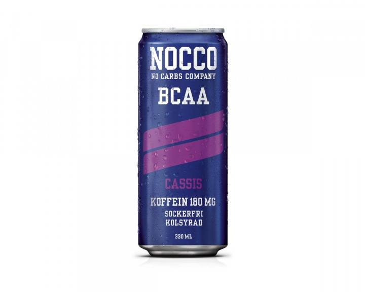 BCAA 330ml Cassis in the group Home & Leisure / Drinks & Energy at MaxGaming (11698)