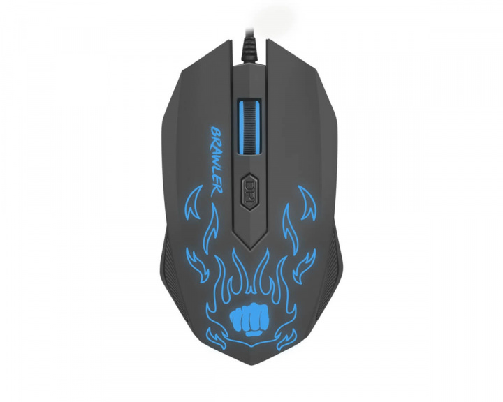Brawler Gaming Mouse in the group PC Peripherals / Mice & Accessories / Gaming mice / Wired at MaxGaming (12733)