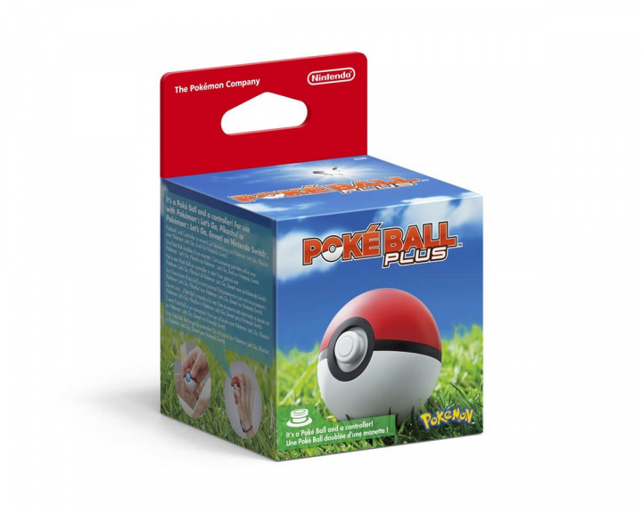 Poké Ball Plus in the group Console / Nintendo / Accessories / Controller at MaxGaming (13286)