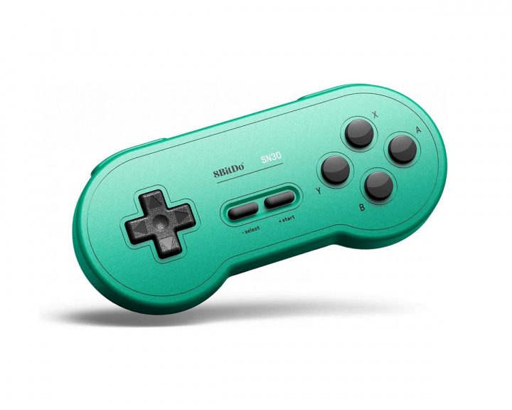SN30 Bluetooth Gamepad (GP Green Edition) in the group Console / Nintendo / Accessories / Controller at MaxGaming (13415)