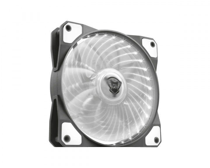 GXT 762W LED PC Case Fan Silent White in the group PC Peripherals / Computer components / Cooling & Fans / Computer fans at MaxGaming (13450)