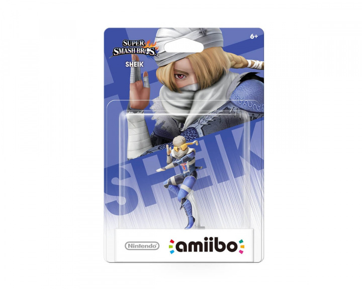 amiibo Super Smash Bros. Sheik in the group Console / Nintendo / Amiibo figure at MaxGaming (13557)