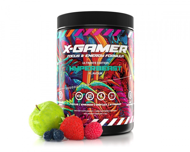 600g X-Tubz Hyperbeast - 60 Servings in the group Home & Leisure / Drinks & Energy at MaxGaming (13726)