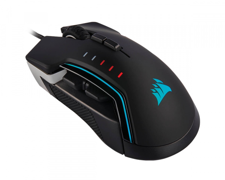 GLAIVE RGB PRO Gaming Mouse Aluminum in the group PC Peripherals / Mice & Accessories / Gaming mice / Wired at MaxGaming (14265)