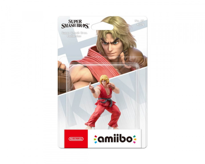 amiibo Super Smash Bros. Ken in the group Console / Nintendo / Amiibo figure at MaxGaming (14297)