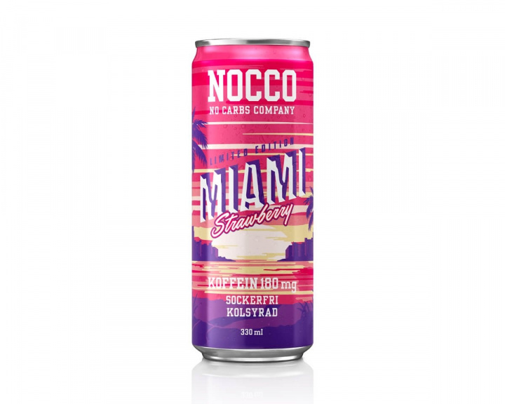 BCAA 330ml Miami Strawberry in the group Home & Leisure / Drinks & Energy at MaxGaming (14426)