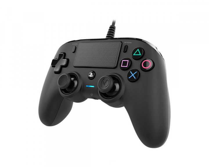 Wired Compact Controller Black (PS4/PC) in the group Console / Playstation / PS4 Accessories / Controller at MaxGaming (14502)