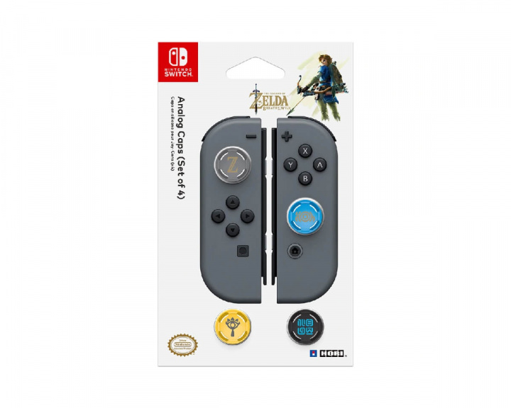 Zelda Analog Caps for Nintendo Switch in the group Console / Nintendo / Accessories / Miscellaneous at MaxGaming (14895)