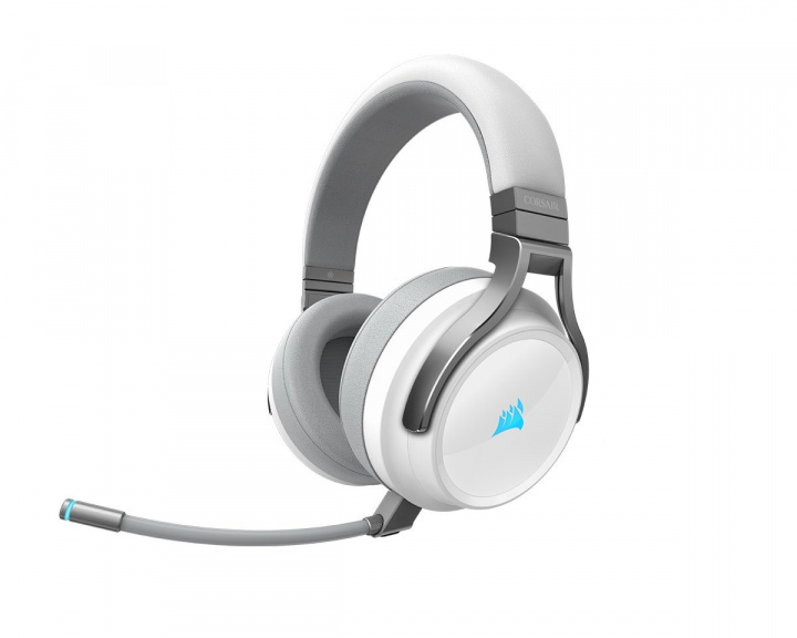 VIRTUOSO RGB Wireless White in the group PC Peripherals / Headsets & Audio / Gaming headset / Wireless at MaxGaming (15104)