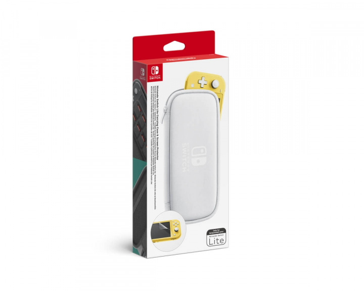 Switch Lite Carrying Case & Screen Protector - White in the group Console / Nintendo / Accessories / Case at MaxGaming (15105)