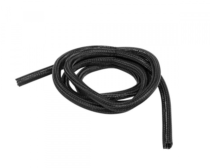 Self-Closing Cable Sleeve 2m 13mm - Black in the group PC Peripherals / Cables & adapters / Cable management at MaxGaming (15141)