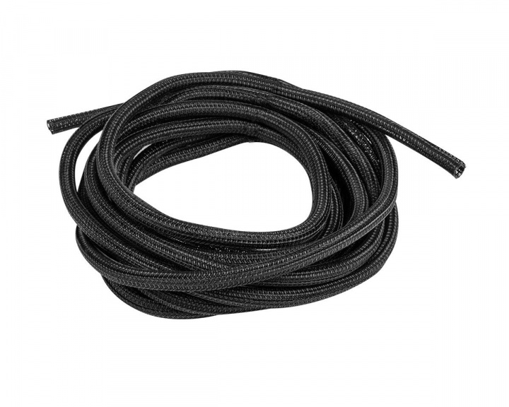 Self-Closing Cable Sleeve 5m 6mm - Black in the group PC Peripherals / Cables & adapters / Cable management at MaxGaming (15146)