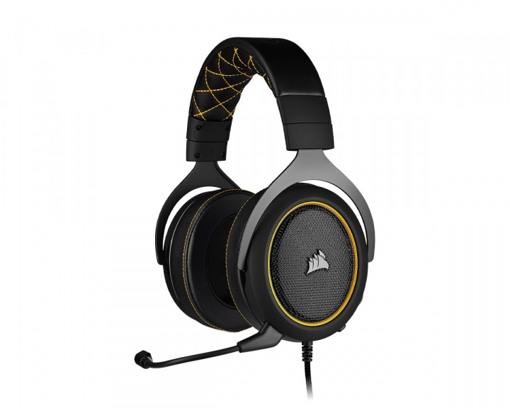 Gaming HS60 PRO - Yellow in the group PC Peripherals / Headsets & Audio / Gaming headset at MaxGaming (15280)