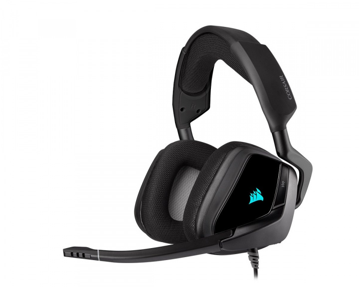 VOID RGB ELITE USB Premium Gaming Headset 7.1 - Carbon in the group PC Peripherals / Headsets & Audio / Gaming headset / Wired at MaxGaming (15283)