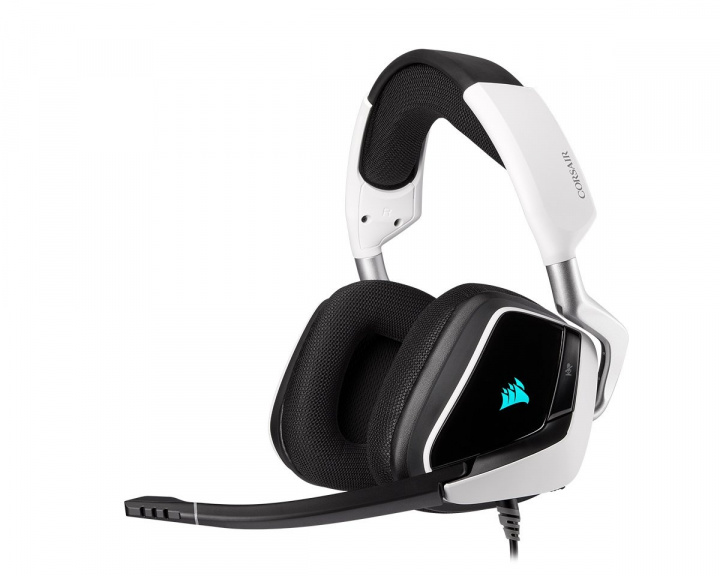 VOID RGB ELITE USB Premium Gaming Headset 7.1 - White in the group PC Peripherals / Headsets & Audio / Gaming headset / Wired at MaxGaming (15284)