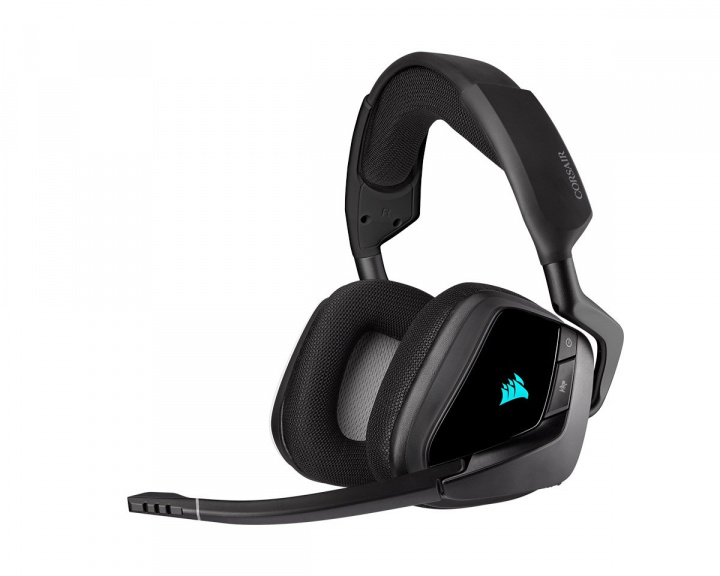 VOID RGB ELITE Trådlöst Premium Gaming Headset 7.1 - Carbon in the group PC Peripherals / Headsets & Audio / Gaming headset / Wireless at MaxGaming (15287)