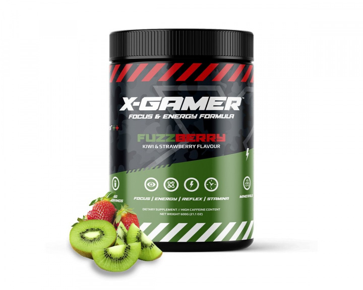 600g X-Tubz FuzzBerry - 60 Servings in the group Home & Leisure / Drinks & Energy at MaxGaming (15288)
