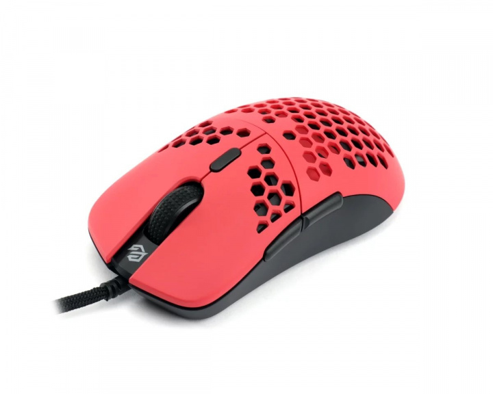 Hati Gaming Mouse Red/Black Matte in the group PC Peripherals / Mice & Accessories / Gaming mice / Wired at MaxGaming (15685)