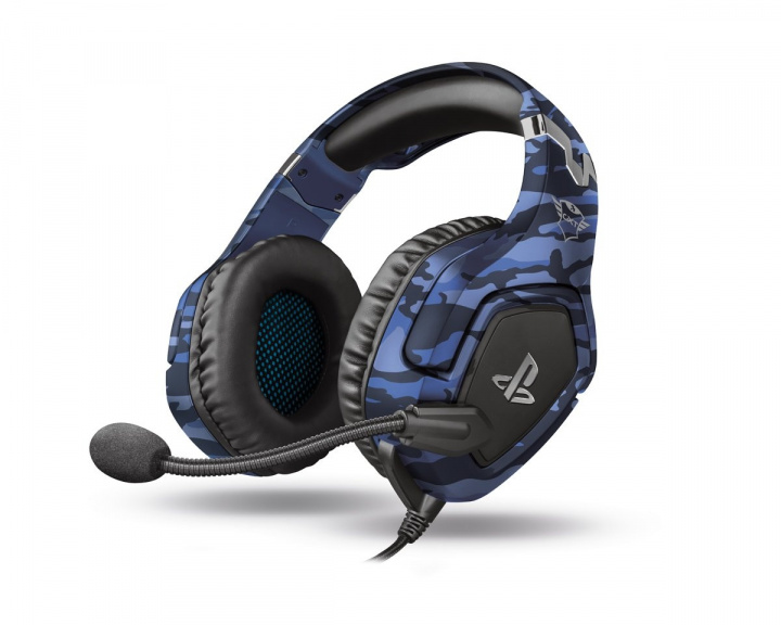 GXT 488 Forze PS4 Gaming Headset Camo Blue in the group Console / Playstation / PS4 Accessories / Headsets at MaxGaming (15935)