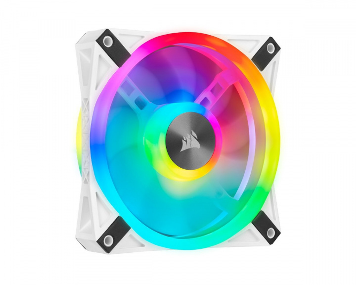 QL120 RGB White Fan in the group PC Peripherals / Computer components / Cooling & Fans / Computer fans at MaxGaming (16008)
