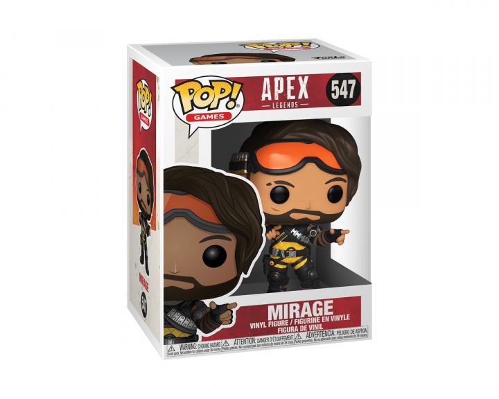 POP Games: Apex Legends - Mirage in the group Home & Leisure / Collectible figures / Funko Pop Figures at MaxGaming (16310)