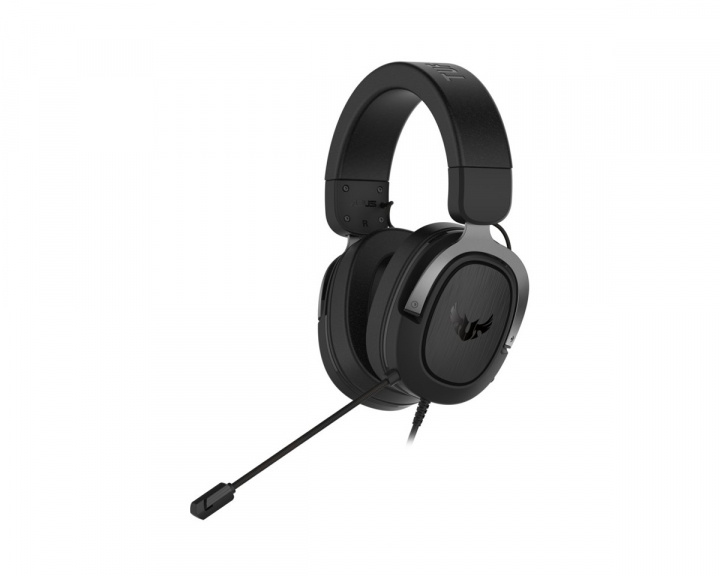 TUF H3 Gaming Headset Gun Metal in the group PC Peripherals / Headsets & Audio / Gaming headset / Wired at MaxGaming (16667)