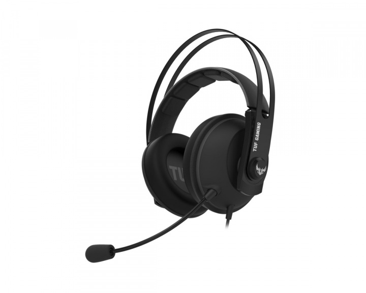 TUF H7 Core Gaming Headset Gun Metal in the group PC Peripherals / Headsets & Audio / Gaming headset / Wired at MaxGaming (16671)