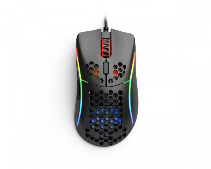 Model D- Gaming Mouse Black in the group PC Peripherals / Mice & Accessories / Gaming mice / Wired at MaxGaming (16756)