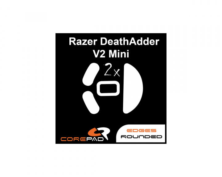 Skatez for Razer Deathadder V2 Mini in the group PC Peripherals / Mice & Accessories / Mouse skates at MaxGaming (17036)