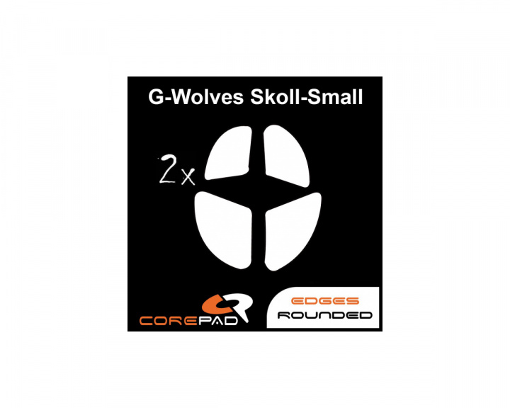 Skatez for G-Wolves Skoll-S Small Mini in the group PC Peripherals / Mice & Accessories / Mouse skates at MaxGaming (17037)