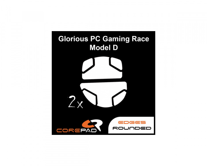Skatez for Glorious PC Gaming Race Model D in the group PC Peripherals / Mice & Accessories / Mouse skates at MaxGaming (17038)