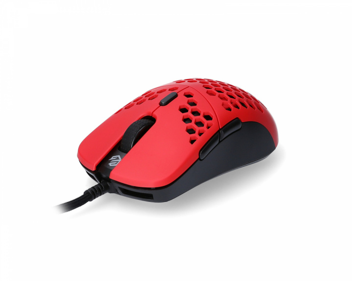 Hati S Gaming Mouse Red/Black in the group PC Peripherals / Mice & Accessories / Gaming mice / Wired at MaxGaming (17099)