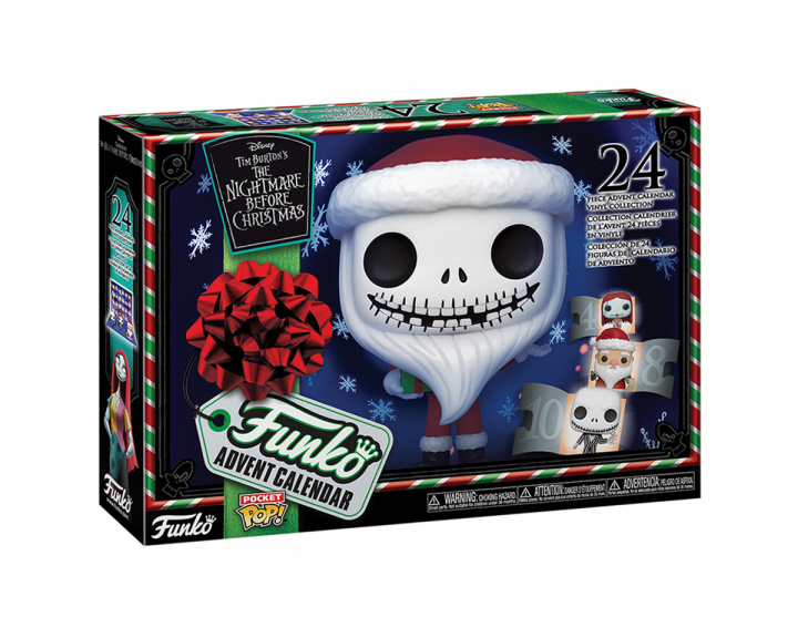 Advent Calendar: The Nightmare Before Christmas 24-piece (PSH) in the group Home & Leisure / Collectible figures / Funko Pop Figures at MaxGaming (17155)