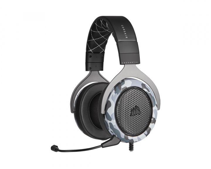 HS60 HAPTIC Bass Gaming Headset in the group PC Peripherals / Headsets & Audio / Gaming headset / Wired at MaxGaming (17233)