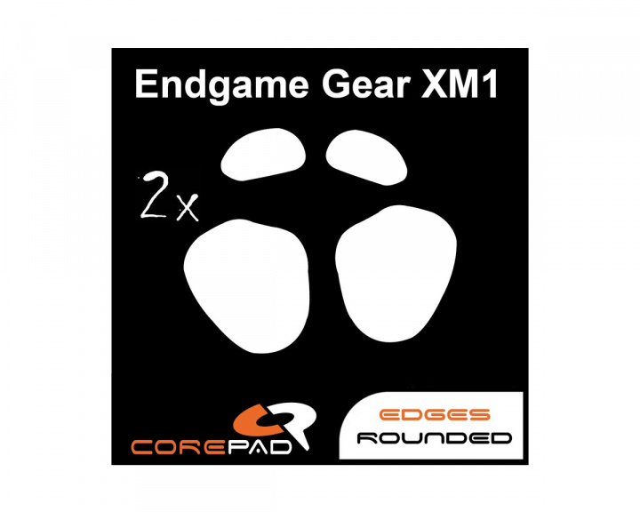 Skatez for Endgame Gear XM1 in the group PC Peripherals / Mice & Accessories / Mouse skates at MaxGaming (17255)