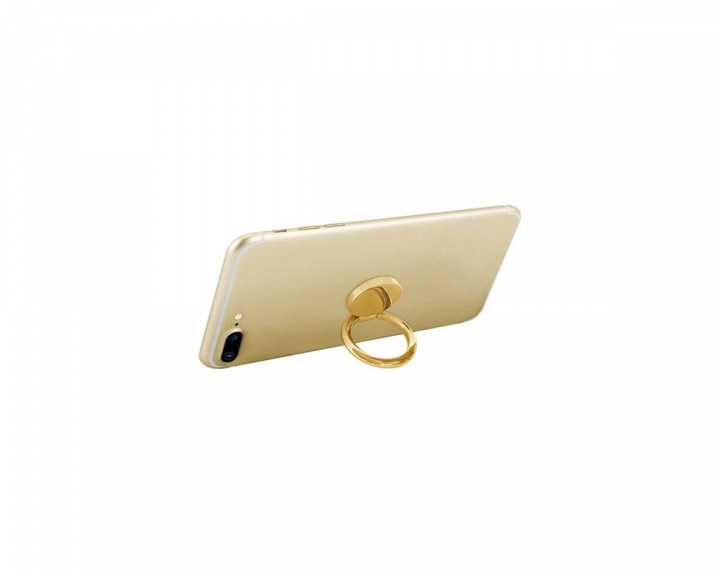 IDECOZ Mobile Ring Rotating Stand Function - Gold in the group Mobile Accessories / Miscellaneous at MaxGaming (17380)