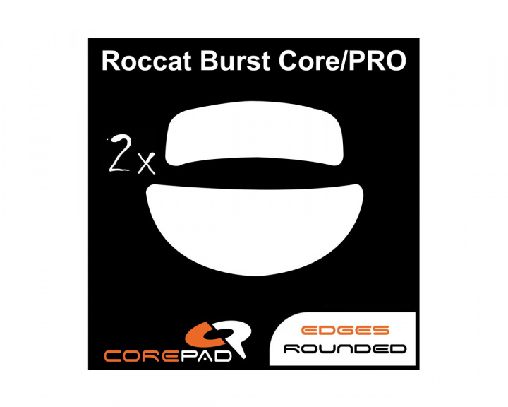 Skatez for Roccat Burst Core/Burst Pro in the group PC Peripherals / Mice & Accessories / Mouse skates at MaxGaming (17547)
