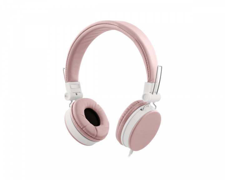 Headphones with Microphone - Pink in the group Mobile Accessories / Headsets for mobile at MaxGaming (17630)