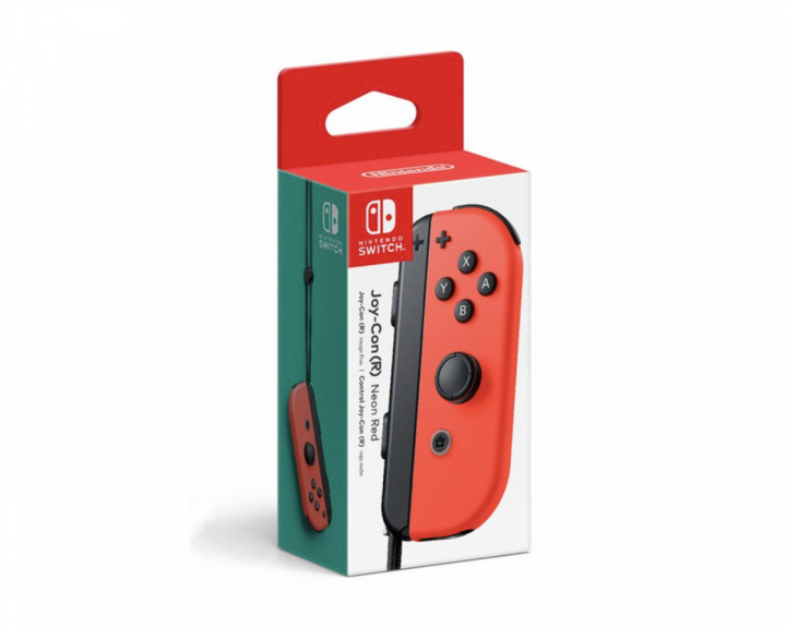 Joy-Con Hand Control for Nintendo Switch Red (R) in the group Console / Nintendo / Accessories / Controller at MaxGaming (17745)