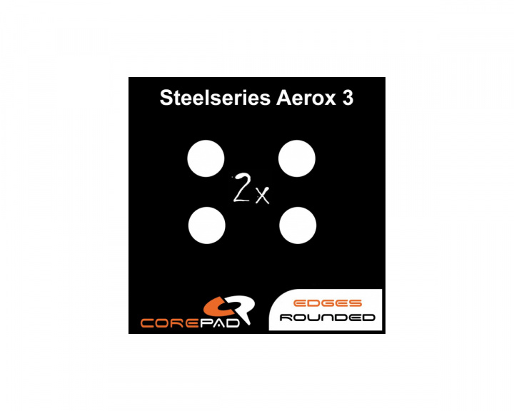 Skatez PRO 205 for SteelSeries Aerox 3 in the group PC Peripherals / Mice & Accessories / Mouse skates at MaxGaming (17783)