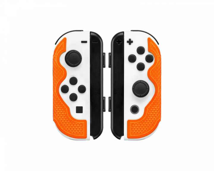 Nintendo Switch Joy-Con Grip - Tangerine in the group Console / Nintendo / Accessories / Case at MaxGaming (17842)