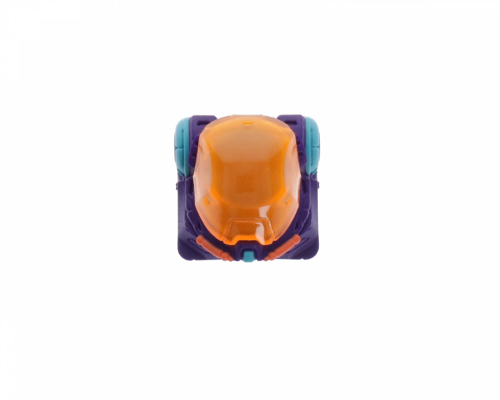 Astronskull - Transparent Orange Visor in the group PC Peripherals / Keyboards & Accessories / Keycaps at MaxGaming (17908)