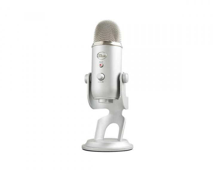Yeti USB Microphone - Silver in the group PC Peripherals / Headsets & Audio / Microphones at MaxGaming (9394)